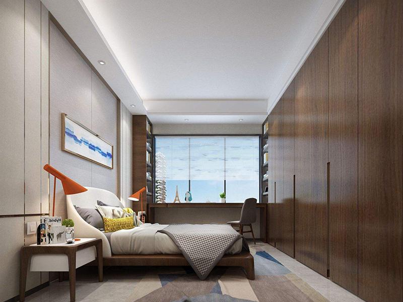 贵阳装修公司 装修中如何让小户型卧室不压抑?