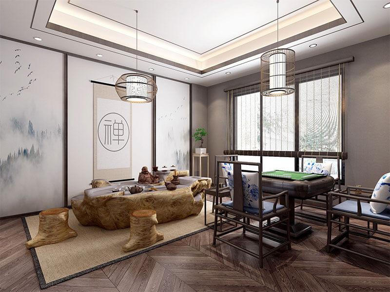 碧桂园-新中式风格装修案例