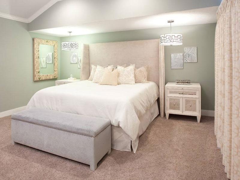 卧室背景墙的基本新利娱乐下载法则