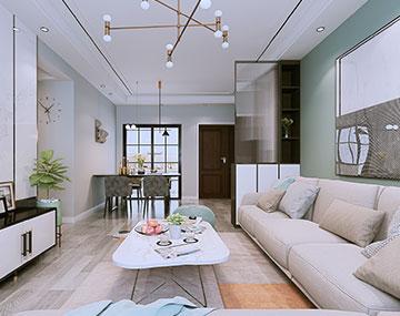 广大城-现代风格装修案例