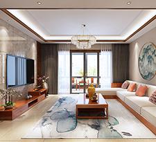 沙发背景墙,新中式让你眼前一亮