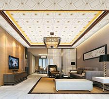 客厅用现代集成吊顶好吗